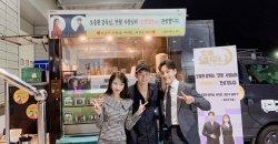 คิมซูฮยอน เซอร์ไพรส์ไอยู และ ยอจินกู ในกองถ่ายละคร Hotel Del Luna