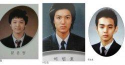 ชาวเน็ตรวมภาพถ่ายจบการศึกษาของบรรดานักแสดงชายตัวท็อปของเกาหลี!