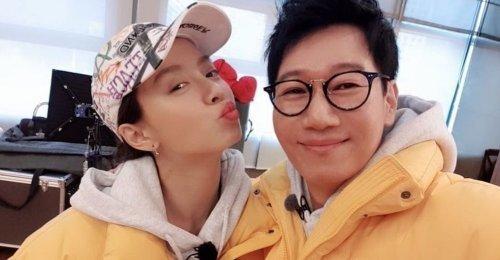 จีซอกจิน แชร์คลิปวิดีโอสุดฮา ของ ซงจีฮโย ในห้องอัดเพลง ในวันเกิดของเธอ