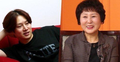 คิมฮีชอล ควงแขน คุณแม่ ร่วมรายการ My Ugly Duckling - แม่พูดถึงผู้หญิงในชีวิตเขา