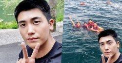 พัคฮยองซิก เผยภาพเซลฟี่ออริจินัล ที่ วี BTS เอาไปตัดต่อลงภาพกลุ่มล่าสุด!