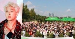 ARMY สร้างป่าในชื่อของ RM เพื่อเป็นของขวัญวันเกิดให้กับเขา!