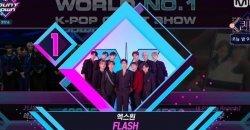 X1 ชนะถ้วยที่ 11 สำเร็จแล้วจากเพลง Flash ใน M Countdown!
