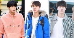 จิน BTS ถูกโหวตให้เป็น ไอดอล แฟชั่นกับลุค Everyday Clothes ที่ดีที่สุด