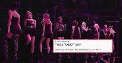 เพลง Fancy เป็นเพลงที่ 10 ของ TWICE ที่มียอดวิวทะลุ 200 ล้านวิว!