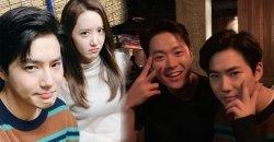 ซูโฮ EXO ได้ถ่ายภาพสุดสนุก กับ ยุนอา, กงมยอง และ อีดงฮวี ที่งาน 24th BIFF
