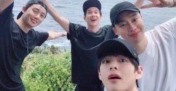 พีคบอย ได้แชร์เรื่องราวเกี่ยวกับ มิตรภาพที่มีกับ วี BTS, พัคซอจุน และ ชเวอูซิก