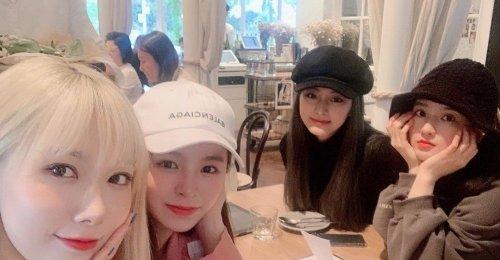 จื่อวี TWICE เอลกี่ CLC ฮันดง DreamCatcher รวมตัวฉลองวันเกิดให้แซลลี่ Gugudan