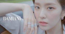 ไอรีน Red Velvet ถ่ายโฆษณาให้แบรนด์จิวเวอรี่หรู DAMIANI