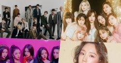 รายชื่อศิลปิน/ไอดอลเกาหลีที่ได้รับ Certified Platinum จาก Gaon!