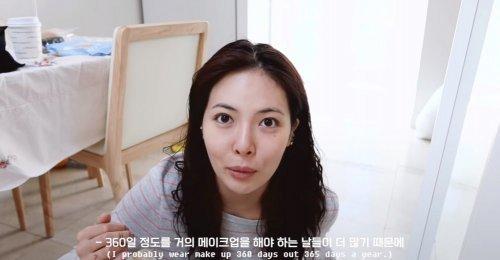 ฮยอนอา (HyunA) เผยให้เห็นความงามผ่านหน้าสดไร้เครื่องสำอาง
