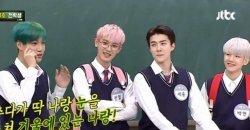 ไค EXO อธิบายว่าทำไม EXO ถึงซ้อมเต้นด้วยการสวมแค่ชุดชั้นในตอนพรีเดบิวต์