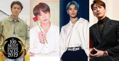รวม 23 คนดังเกาหลีที่ติดอันดับ TOP 100 หนุ่มหน้าหล่อแห่งปี 2019 ของ TC Candler