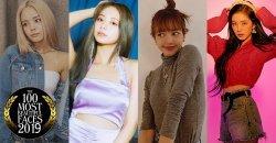 รวม 21 คนดังเกาหลีที่ติดอันดับ TOP 100 สาวหน้าสวยแห่งปี 2019 ของ TC Candler