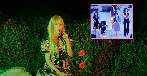 การกระทำที่น่าประทับใจของ เวนดี้ Red Velvet บนสเตจ ได้รับความสนใจอย่างมาก