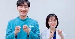 คิมมินแจ และ โซจูยอน ทำชาเล้นจ์ Any Song สุดน่ารัก ในชุดจาก Dr. Romantic 2