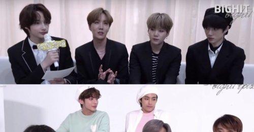 BTS TXT และอีฮยอน เผยให้เห็นเบื้องหลังการถ่ายภาพครอบครัว Big Hit