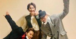 ซงมินโฮ WINNER พีโอ Block B ไปให้กำลังใจคยูฮยอน SJ หลังเวทีละครมิวสิคเคิล!