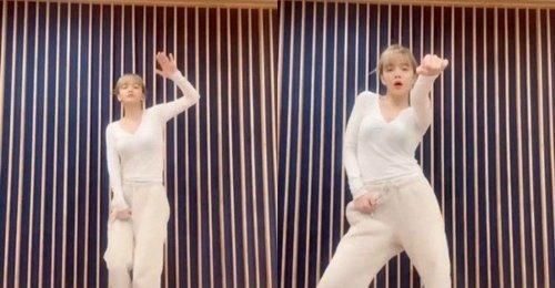 จีมิน AOA ทำ Challenge เพลง Hands Up ของ Cherry Bullet