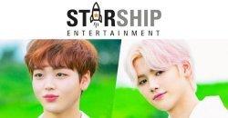 Starship Ent. ได้ประกาศ ทำบอยกรุ๊ปใหม่ ประกอบด้วย ซงฮยองจุน และ คังมินฮี
