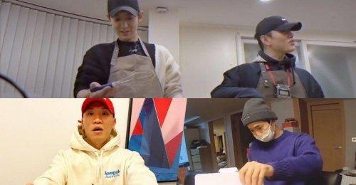 ชานยอล EXO และ โปรดิวเซอร์ MQ ทำของขวัญวาเลนไทน์ ให้กับ เกโค และ ซูโฮ