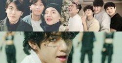พัคซอจุน, พัคฮยองซิก, ชเวอูชิก และ พีคบอย กับรีแอคชั่นถึง วี ใน  MV เพลงใหม่ของ BTS
