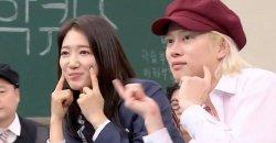 พัคชินฮเย + คิมฮีชอล Super Junior ร่วมกันทำชาเล้นจ์ Any Song ของ จีโค่