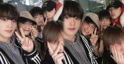 อีจินฮยอก แสดงความรักอันอบอุ่นไปยัง คิมโยฮัน, คิมมินกยู, นัมโดฮยอน และ อีฮันกยอล
