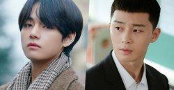 วี BTS แวะทักทาย พัคซอจุน ถึงกองถ่ายละคร Itaewon Class