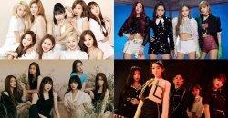 ชาวเน็ตเกาหลี รวม TOP 50 เพลงของเกิร์ลกรุ๊ป K-POP ที่ติดชาร์ต MelOn นานที่สุด!