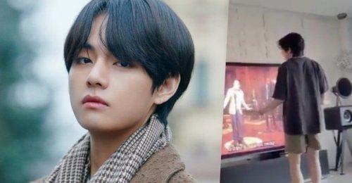 คลิปวิดีโอ StayAtHomeChallenge ของ วี BTS ถูกแชร์โดย กระทรวงวัฒนธรรมฯ เกาหลี