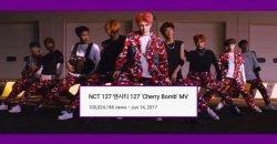 100 ล้านแตก! Cherry Bomb ของ NCT 127 กลายเป็นเพลงที่ 2 ของ NCT ที่ทะลุ 100 ล้าน!