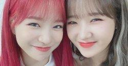 แฝดหรือเปล่า? ชเวยูจอง Weki Meki โพสต์ภาพเซลฟี่คู่ พร้อมแคปชั่นแซว โจยูริ IZ*ONE
