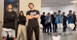 SEVENTEEN ควงแขน ซนนาอึน Apink และ คังแดเนียล ทำชาเล้นจ์ #LeftRightChallenge