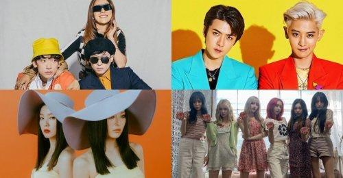 รายชื่อศิลปิน K-POP เดือนกรกฎาคม อัดแน่นไปด้วย แผนสำหรับการ คัมแบ็ค/เดบิวท์