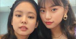 เจนนี่ BLACKPINK และ คิมโดยอน Weki Meki ได้เผยมิตรภาพสุดน่ารัก