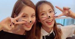 ซอฮยอน Girls' Generation รียูเนียน เจอกันแบบสวยๆ กับอดีตเพื่อนร่วมค่าย โบอา