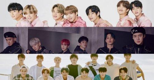 TOP 30 อันดับ ไอดอล บอยกรุ๊ป K-POP ประจำเดือนสิงหาคม 2020