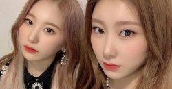 อีแชยอน IZ*ONE แชร์ภาพถ่ายกับน้องสาว แชรยอง ITZY ด้านหลังสเตจงาน