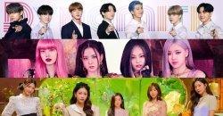 TOP 30 ไอดอลกรุ๊ป K-POP ประจำเดือนสิงหาคม ปี 2020