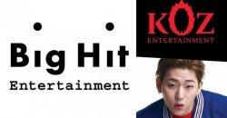 Big Hit ตอบกลับรายงาน การเข้าซื้อสังกัด KOZ Entertainment ของ จีโค่
