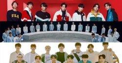 TOP 30 อันดับ ศิลปินบอยกรุ๊ป K-POP ยอดนิยม ประจำเดือนตุลาคม 2020