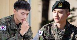 เจ้าหน้าที่ทหาร ได้เผยภาพเซ็ตใหม่ของ D.O. EXO และ ยุกซองแจ BTOB