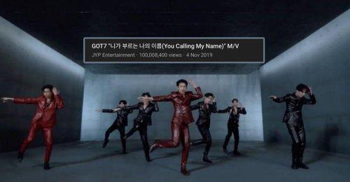 You Calling My Name กลายเป็นเพลงที่ทะลุยอดวิว 100 ล้านวิว ไวที่สุด ของ GOT7