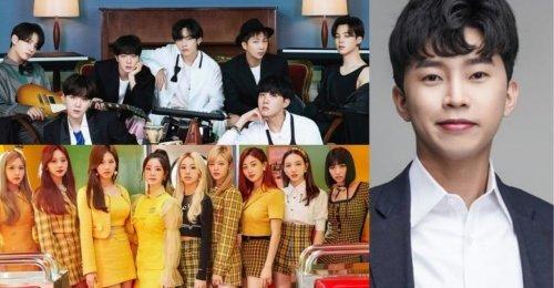 TOP 30 อันดับ นักร้องเกาหลี ยอดนิยมประจำเดือน พฤศจิกายน 2020