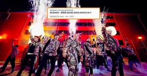 ทวงความยิ่งใหญ่ BANG BANG BANG กลายเป็นเพลงแรกของ BIGBANG ที่ทะลุวิว 500 ล้านวิว