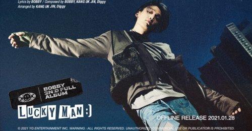 บ๊อบบี้ iKON ปล่อยรายชื่อเพลง 17 เพลง ในอัลบั้ม Lucky Man ที่ฟีทเจอริ่งกับเมมเบอร์ของวง