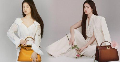 ซงฮเยคโย เป็น นักแสดงหญิงเกาหลีคนแรก ที่ได้ยื่นแท่น แอมบาสเดอร์แบรนด์หรู Fendi