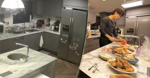 เรน เผยห้องครัวที่บ้าน ของเขาและ ภรรยาคนสวย คิมแทฮี เป็นครั้งแรก