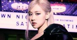 โรเซ่ BLACKPINK ไต่ชาร์ตสูงที่สุดในกลุ่มศิลปินหญิงเดี่ยว K-POP ใน Hot 100 ของ Billboard